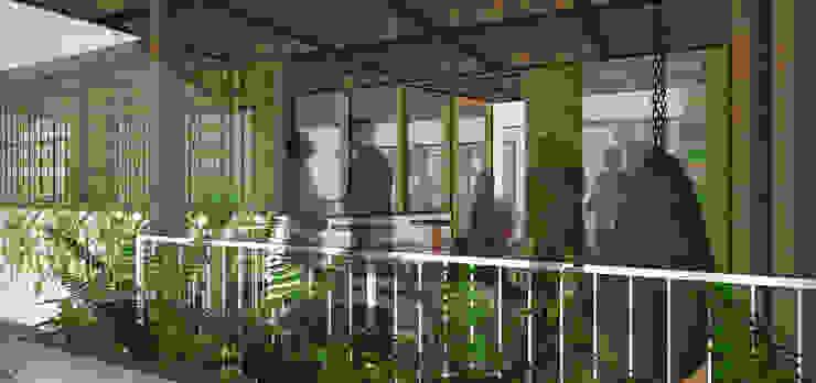 Balkon, Beranda & Teras Tropis Oleh SAE Studio (PT. Shiva Ardhyanesha Estetika) Tropis