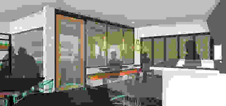 SAE Office & Kecik Kitchen I Concept Tropical style dining room by SAE Studio (PT. Shiva Ardhyanesha Estetika) Tropical