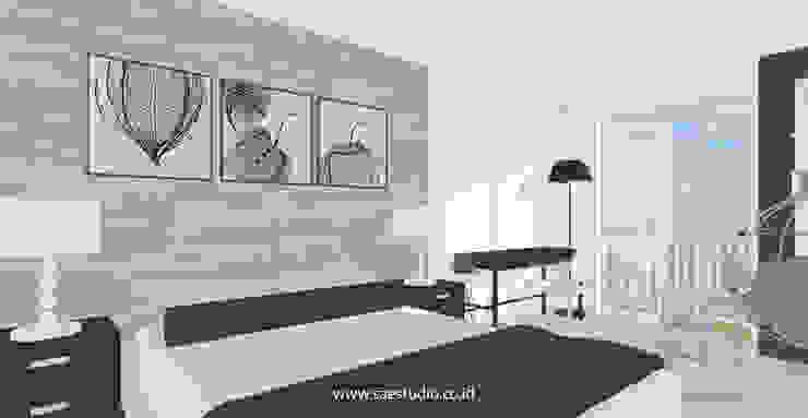 Trivium Apartment I Suite SAE Studio (PT. Shiva Ardhyanesha Estetika) Classic style bedroom