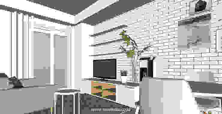SAE Studio (PT. Shiva Ardhyanesha Estetika) Ruang Keluarga Gaya Skandinavia