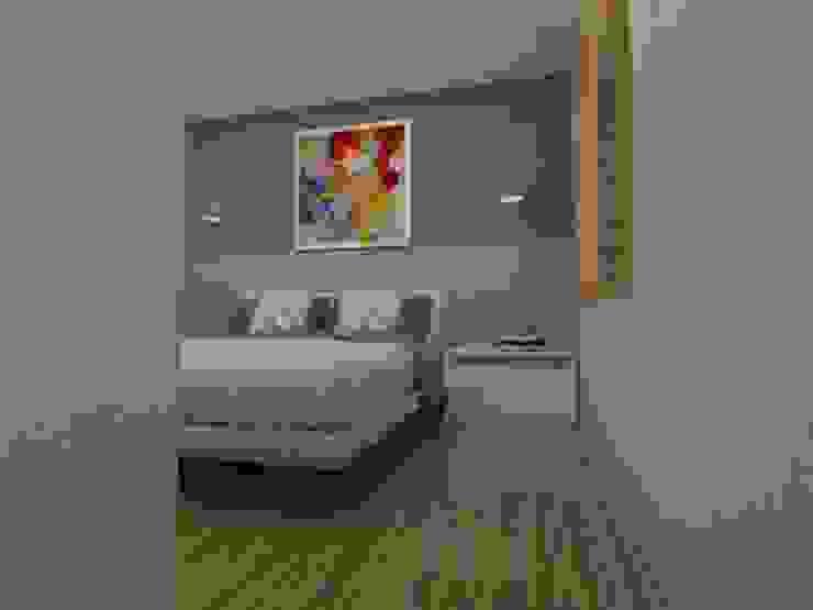 Dormitorio principal Dormitorios escandinavos de SBG Estudio Escandinavo