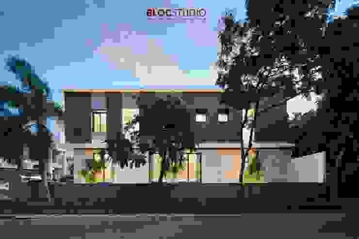 BlocStudio Modern İşlenmiş Ahşap Şeffaf