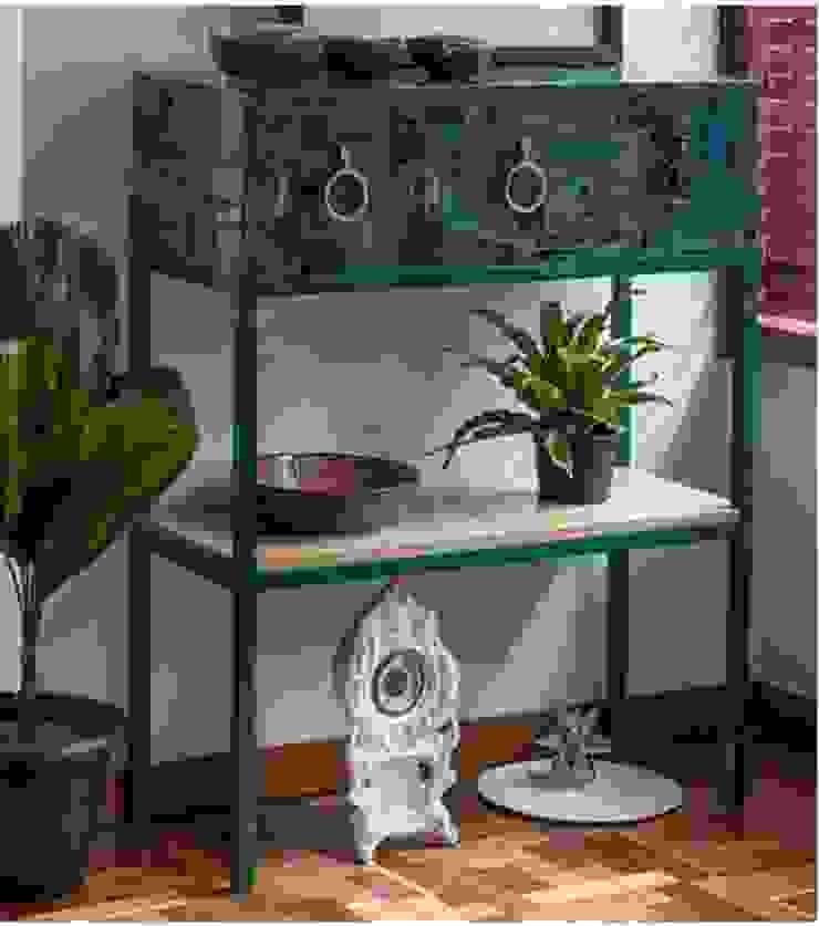 APARADOR PASES DE INGRESO de OCHOINFINITO Mobiliario - Interiorismo Ecléctico Derivados de madera Transparente