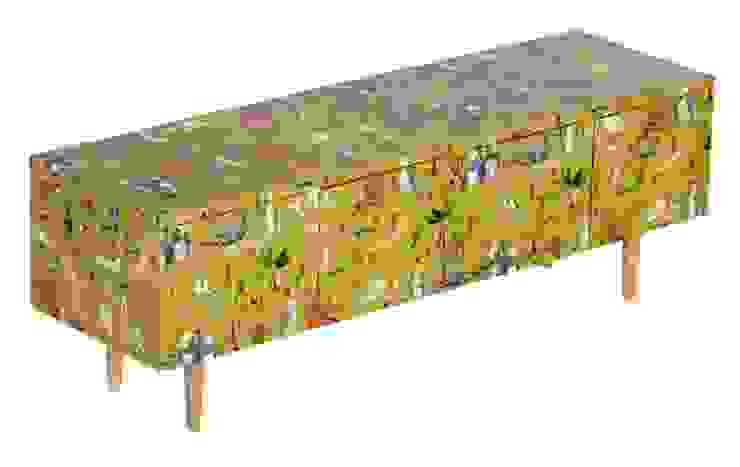 APARADOR FAUNA Y FLORA de OCHOINFINITO Mobiliario - Interiorismo Ecléctico Madera maciza Multicolor