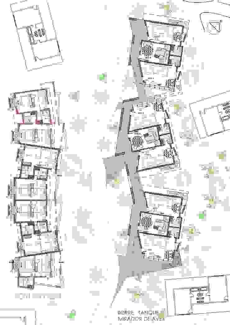 Proyecto y construcción Hotel Ivy Hoteles de estilo moderno de GS TALLER DE ARQUITECTURA Moderno