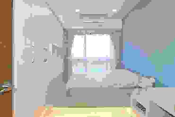 次臥室 根據 奇恩室內裝修設計工程有限公司 現代風