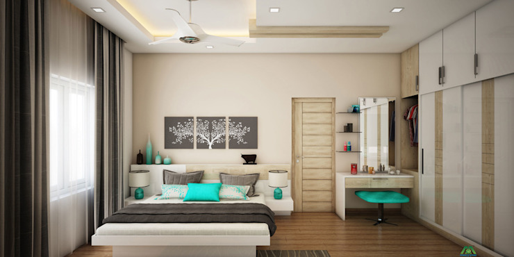 Architects in India: asian  by Monnaie Interiors Pvt Ltd,Asian