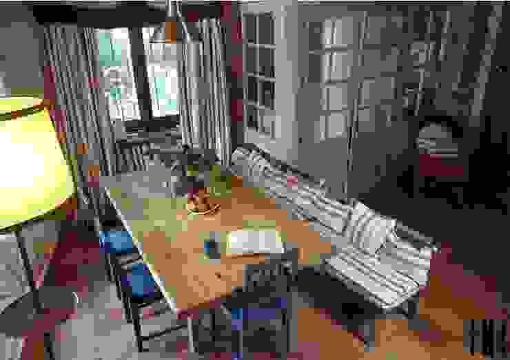 RR Estudio Interiorismo en Madrid 餐廳配件與裝飾品 木頭 Multicolored