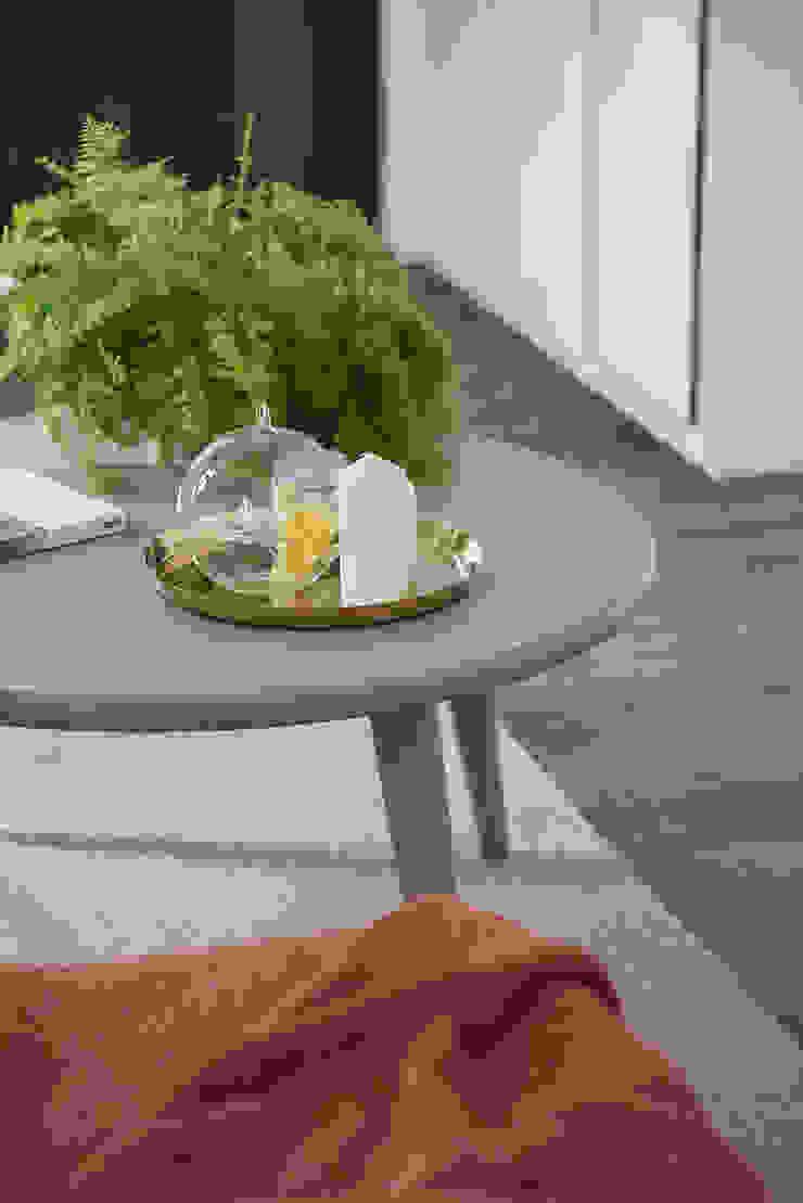 6+1 Pets house 现代客厅設計點子、靈感 & 圖片 根據 知域設計 現代風