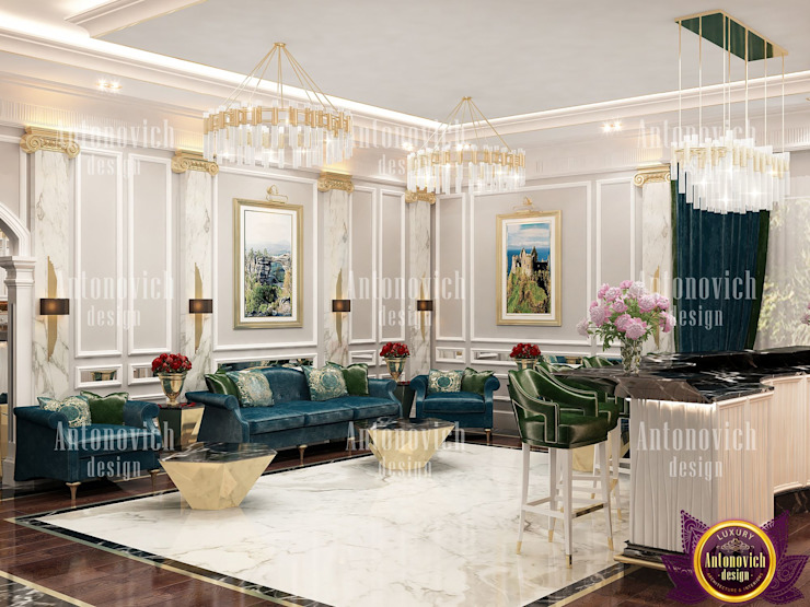 ​Interior design by Katrina Antonovich by Luxury Antonovich Design Classic