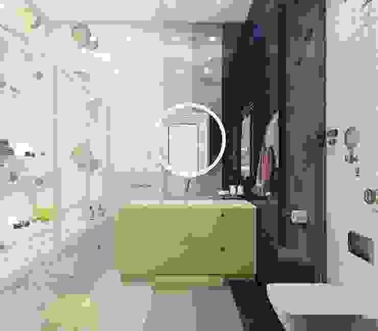 Дизайн четырехкомнатной квартиры в стиле неоклассика Ванная в классическом стиле от Группа Компаний 'Фундамент' Классический