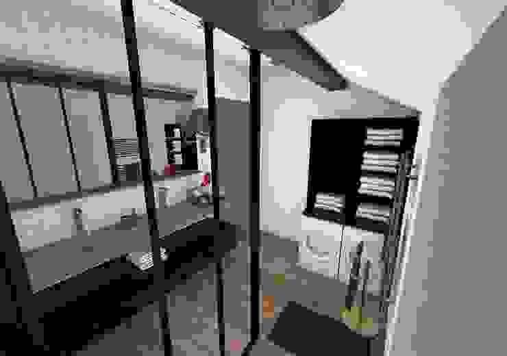 Salle de bain Salle de bain industrielle par Crhome Design Industriel