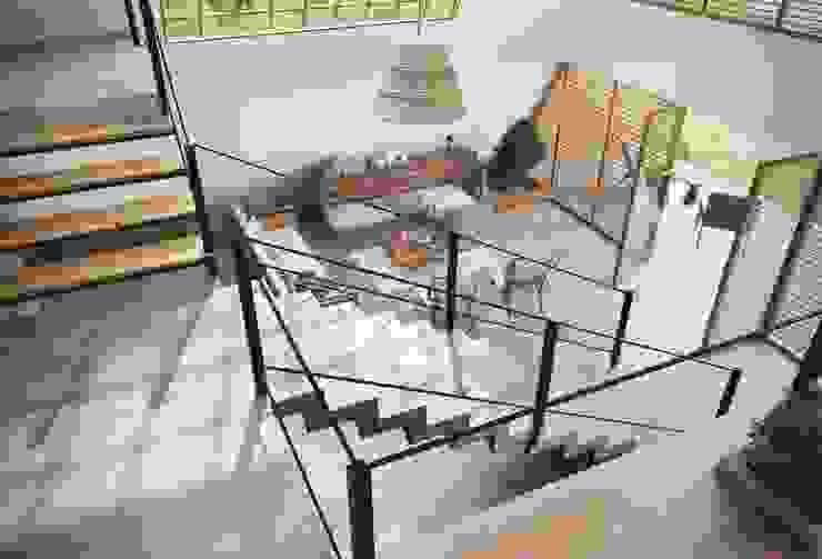 Han House Rustic style living room by Studio Gritt Rustic