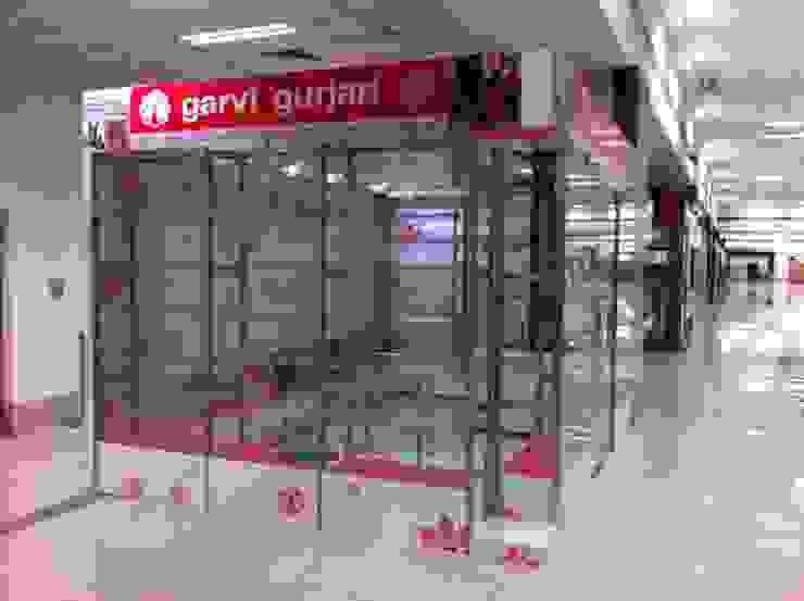 Gurjari Art & Craft Showroom Emporium Modern airports by Designclick Modern