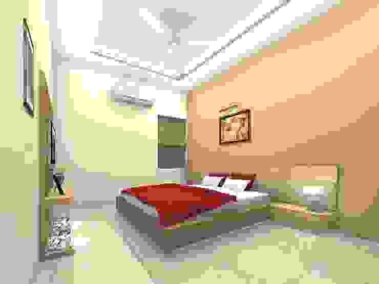 Maninagar Mr. Manojbhatt Residence: modern  by Designclick,Modern