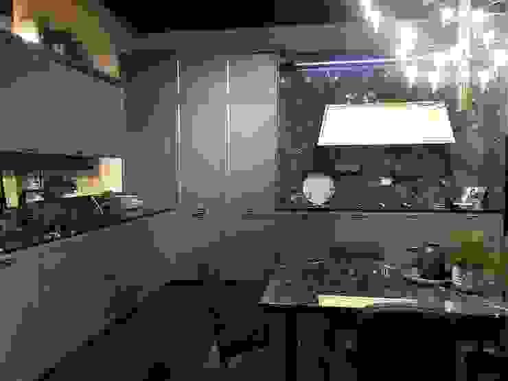 Sgabello Interiores KitchenCabinets & shelves Wood Grey