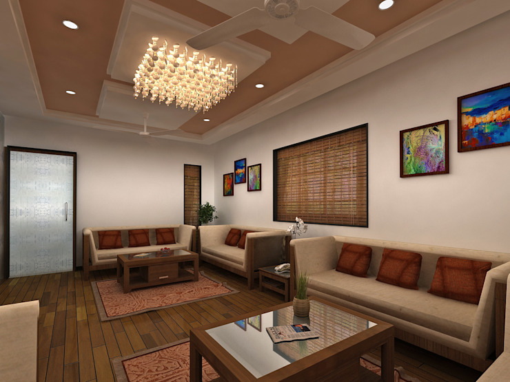 Vice Chancellor Bungalows Ahmedabad: modern  by Designclick,Modern