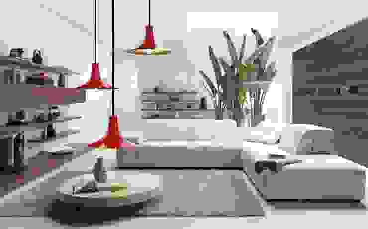 Co&Ca Lighting Living roomLighting Besi/Baja Red