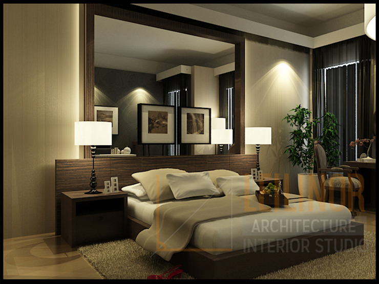 Classic Residential Classic style bedroom by CV Leilinor Architect Classic
