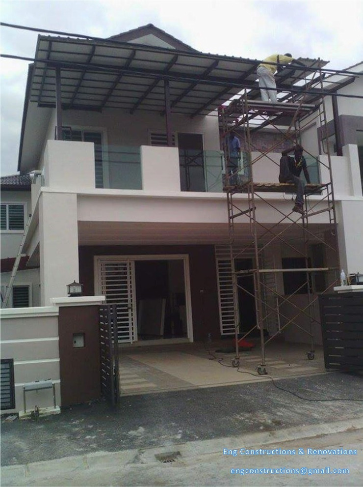 by Sam Contractors Ipoh Asian Aluminium/Zinc