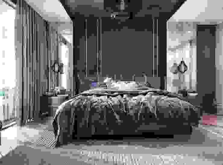 Chambre moderne par VERO CONCEPT MİMARLIK Moderne