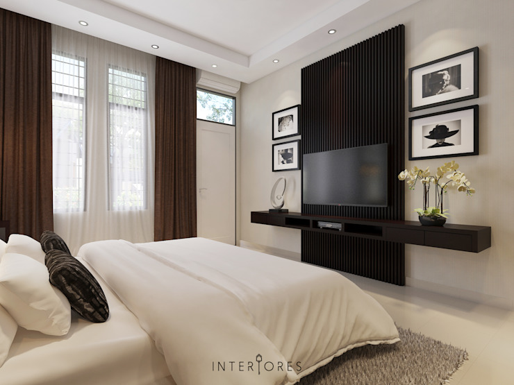 Wall-unit TV Oleh INTERIORES - Interior Consultant & Build