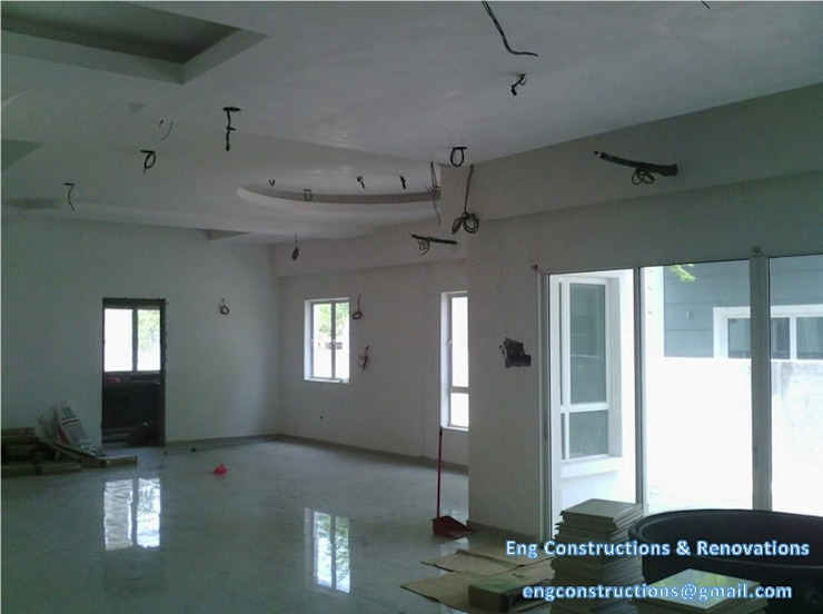 Asian style living room by Sam Contractors Ipoh Asian