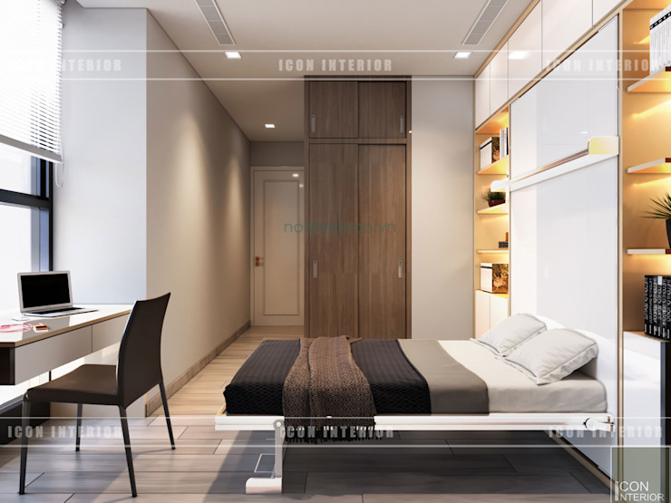 ICON INTERIOR Modern Bedroom