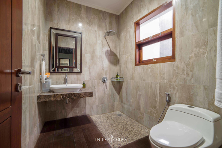 Modern bathroom by INTERIORES - Interior Consultant & Build Modern