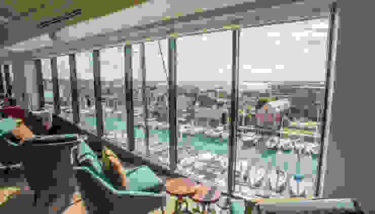 Larforma Balconies, verandas & terraces Furniture Cotton Green