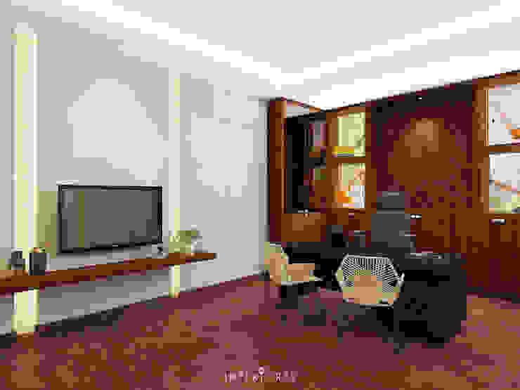 Director's Room Oleh INTERIORES - Interior Consultant & Build