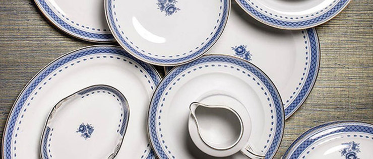 Larforma 餐廳陶器與玻璃製品 陶器 White