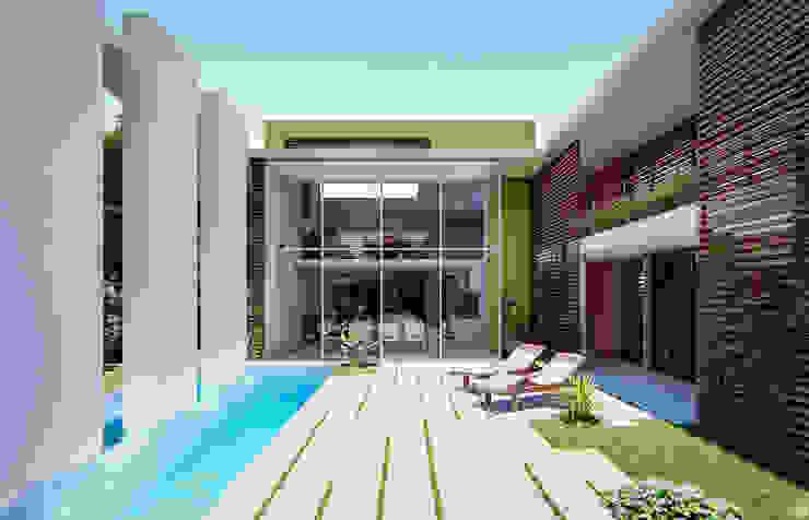 Fort Lauderdale Modern Pool by Fernandez Architecture Modern