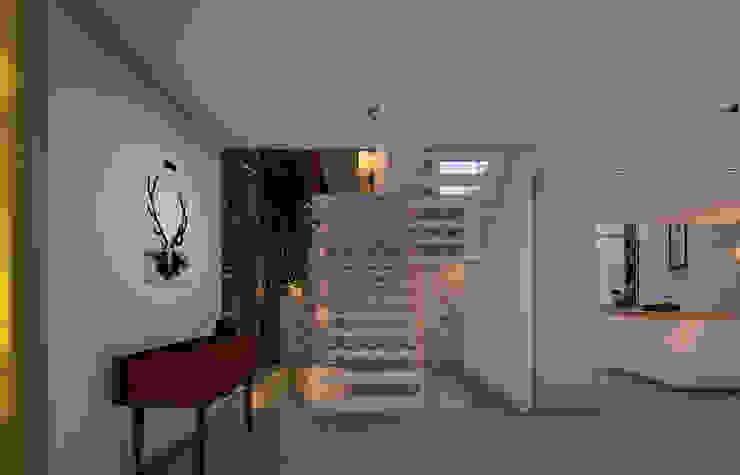 entry foyer by Fernandez Architecture Modern