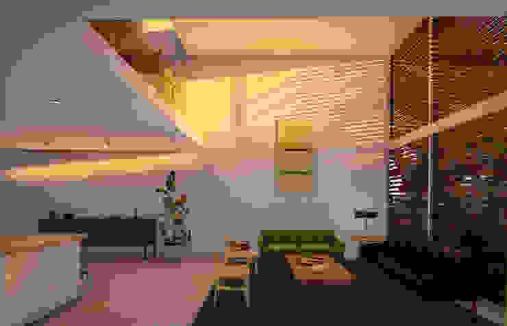 Fort Lauderdale Modern Media Room by Fernandez Architecture Modern