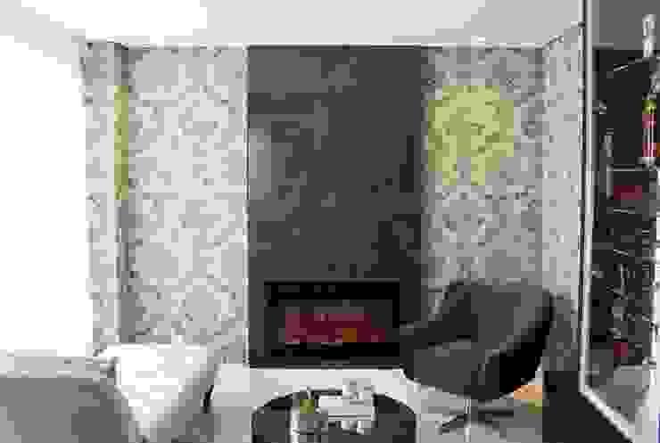 Apartamento 09 Salas de estar ecléticas por PB Arquitetura Eclético