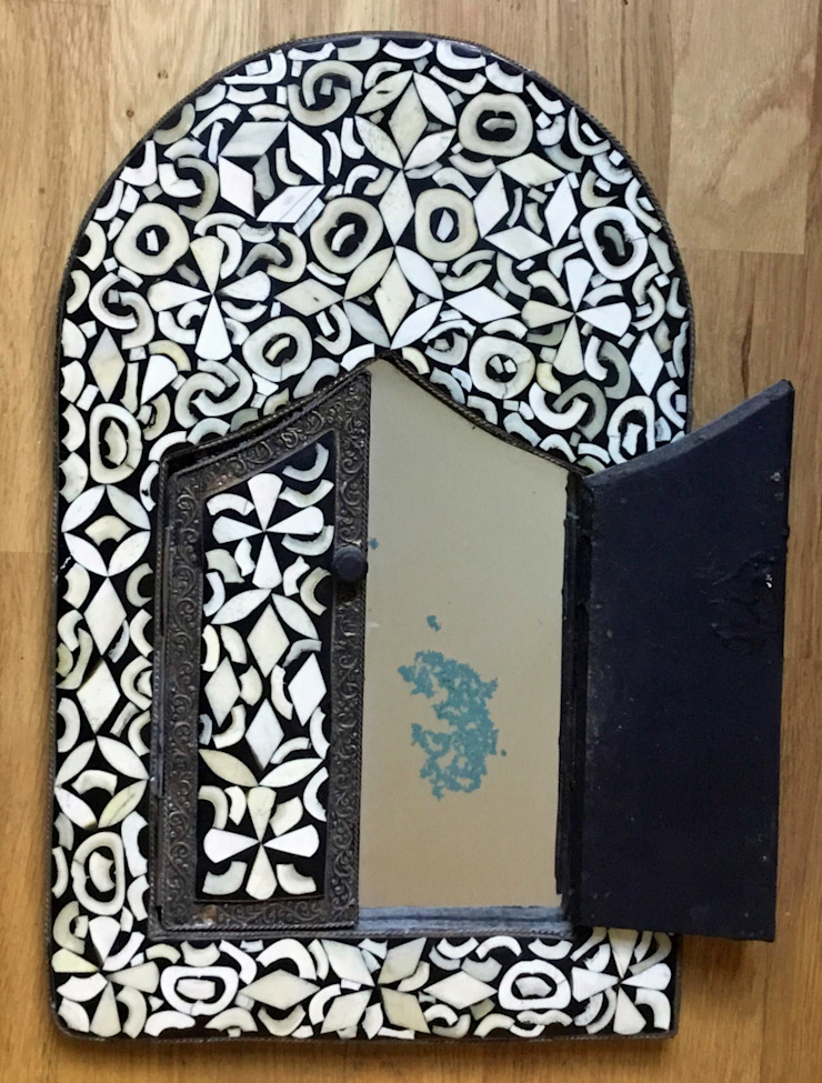 vintage Moroccan Mosaic Mirror Rural Retro HouseholdAccessories & decoration