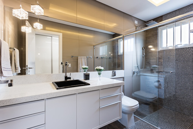 Modern bathroom by Mais Art & Design Modern MDF