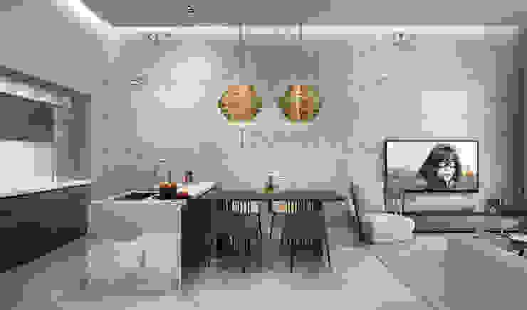 Studio 25 Industrial style living room