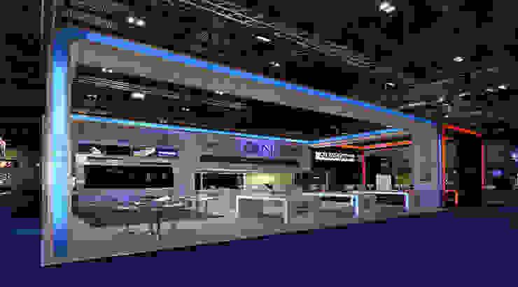 double deck in Exhibition by S3DA Design Modern