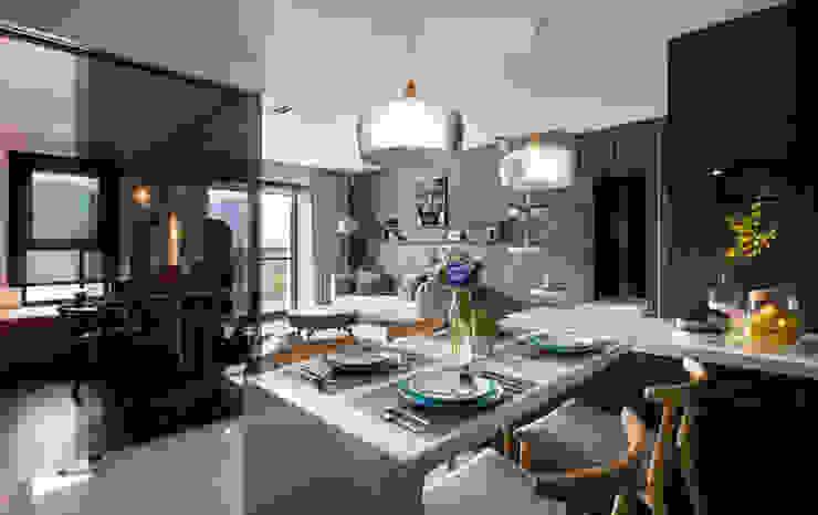 鈊楹室內裝修設計股份有限公司 Modern Dining Room