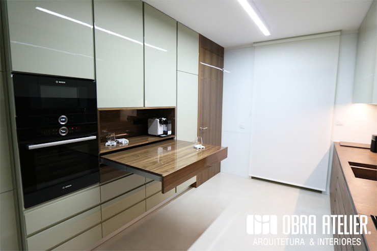 OBRA ATELIER - Arquitetura & Interiores Kitchen White