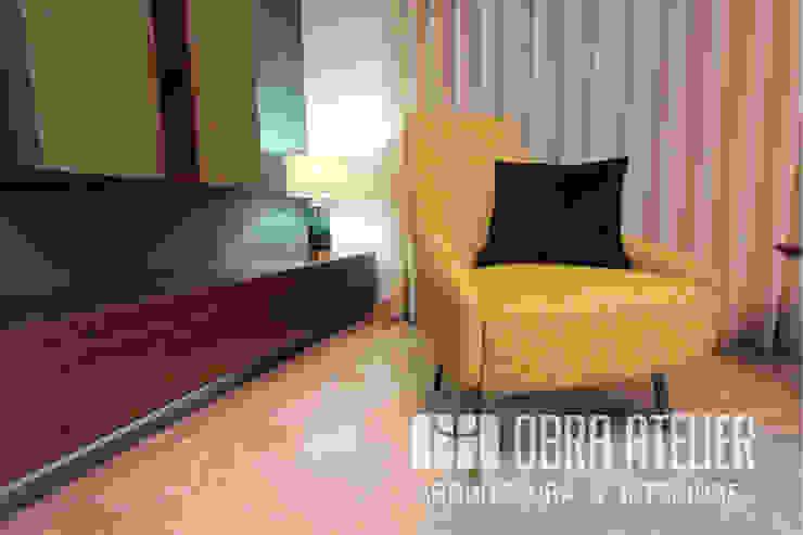 Sala de estar Salas de estar modernas por OBRA ATELIER - Arquitetura & Interiores Moderno