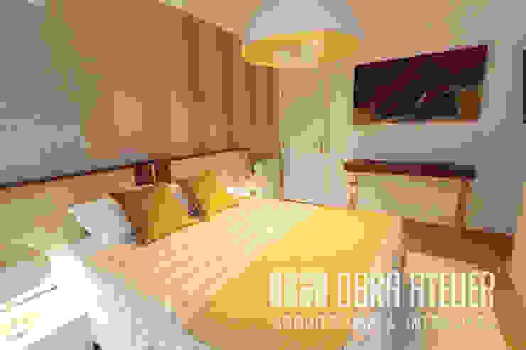 Suite, quarto Quartos modernos por OBRA ATELIER - Arquitetura & Interiores Moderno