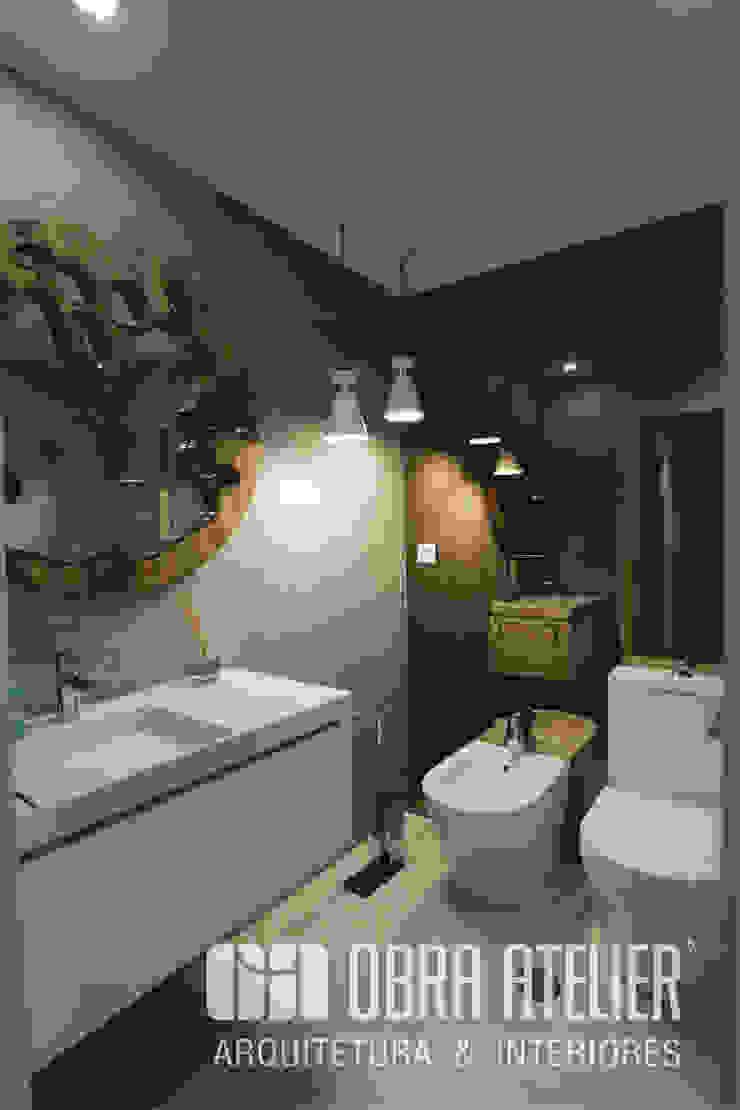 Casa de banho Casas de banho modernas por OBRA ATELIER - Arquitetura & Interiores Moderno