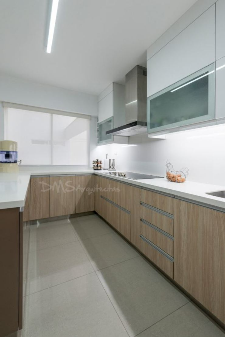COCINA de DMS Arquitectas Moderno