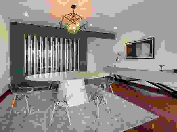 SALA Y COMEDOR Salas modernas de DMS Arquitectas Moderno