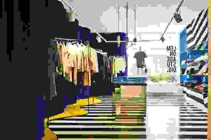 LEMONADE // fashion store // München LOVA Moderne Ladenflächen Gelb