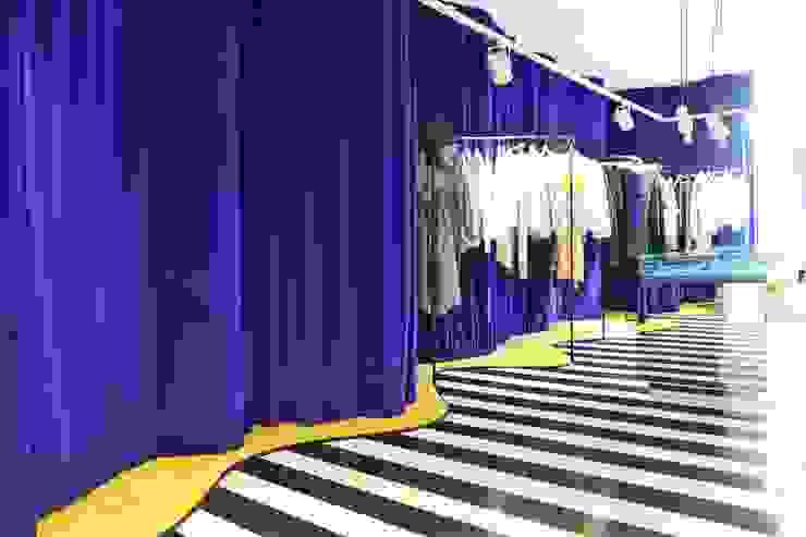 LEMONADE // fashion store // München LOVA Moderne Ladenflächen Blau