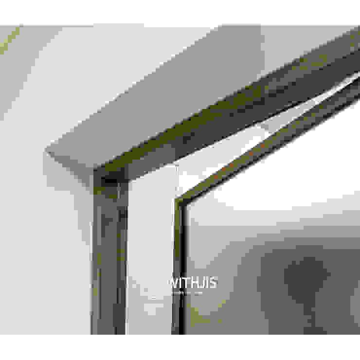 알루미늄 유리 문 by WITHJIS(위드지스) 모던